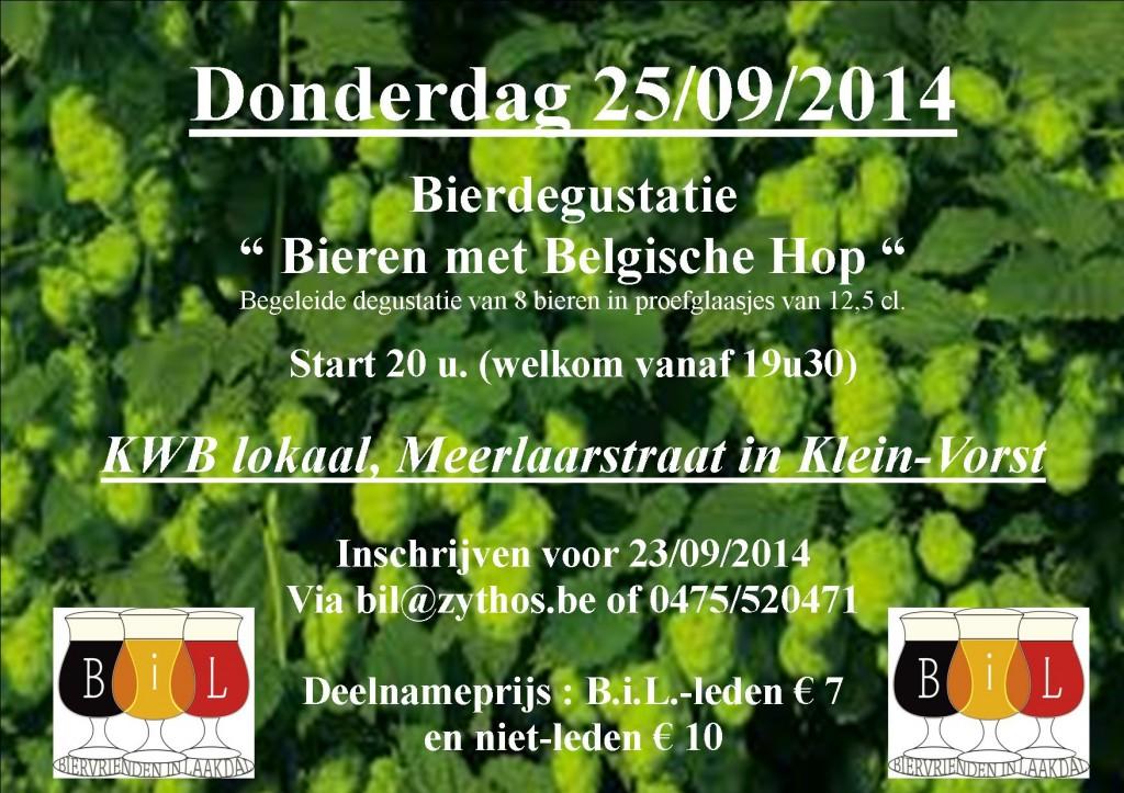 Uitnodiging Belgische Hop